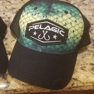 Pelagic hat - snap back - brand new with tags